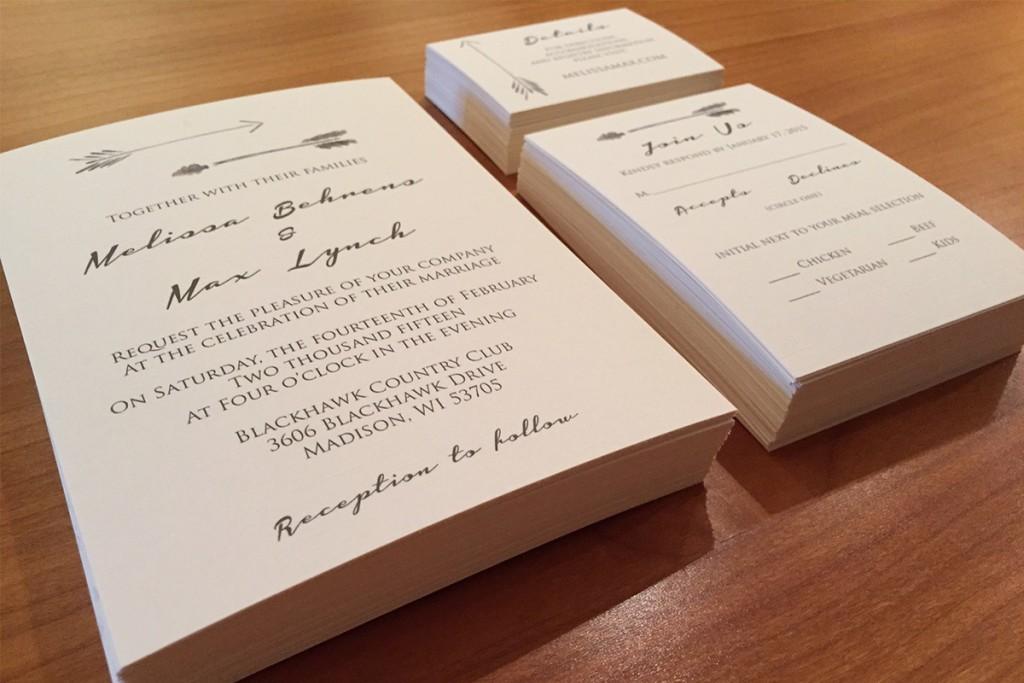 Wedding invitations lumber loves lace for Wedding invitation printing ahmedabad