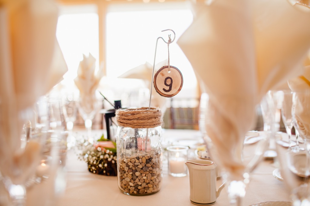 Rusic Wedding Table Numbers