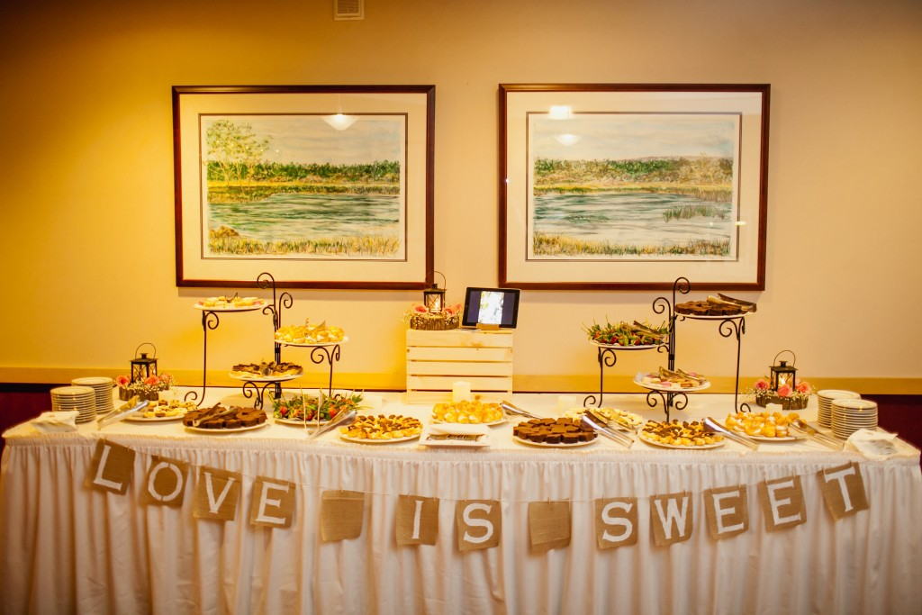 Wedding Dessert and Sweets Table