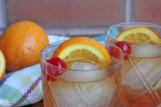 Maple Syrup Brandy Old Fashioned