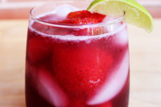 Strawberry Maple Sangria