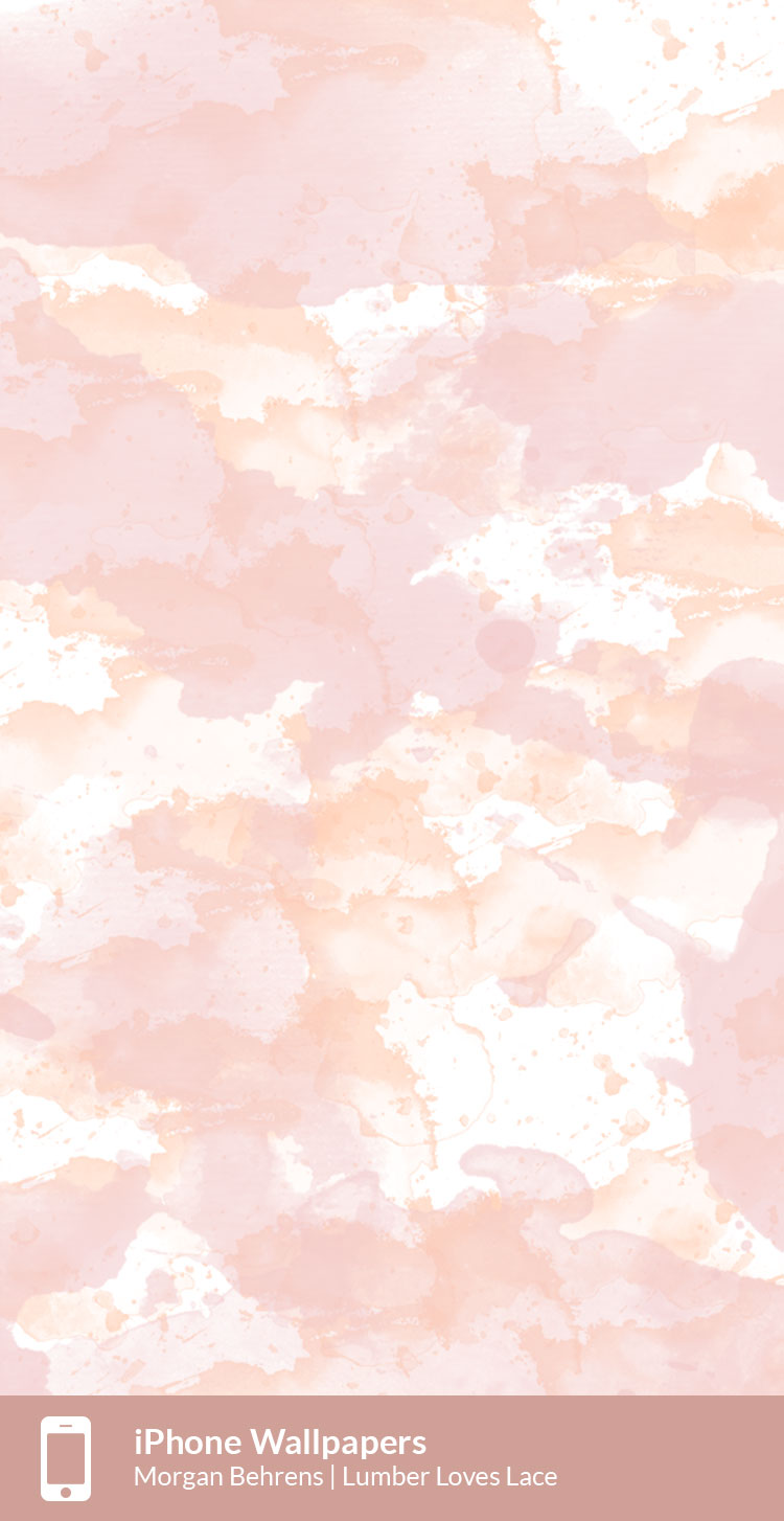 iPhone Watercolor Wallpaper | Free Digital Download | Lumber Loves Lace