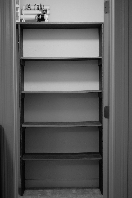 Master Closet Before | Melissa Lynch | melissalynch.com