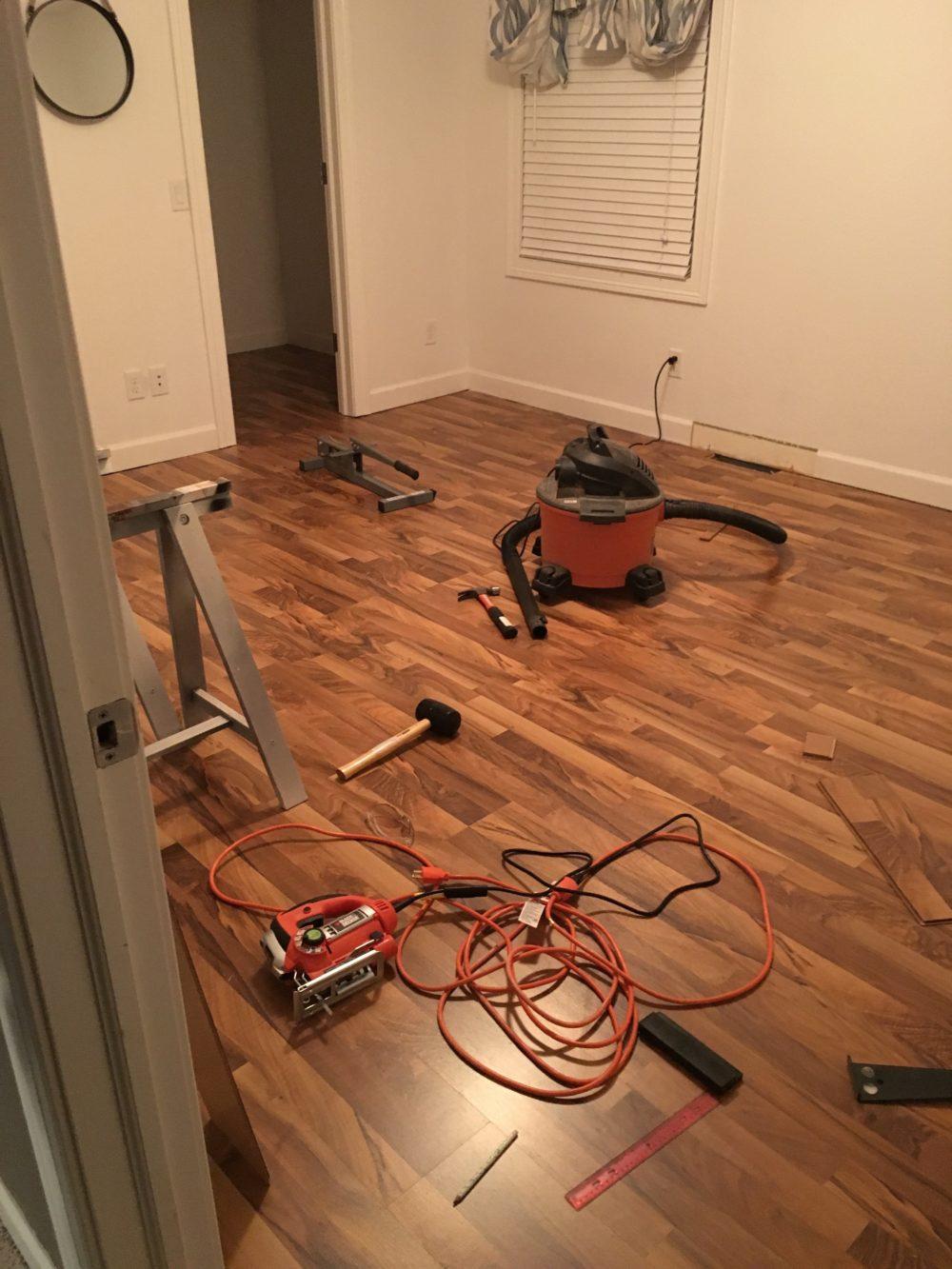 Laminate Flooring | Melissa Lynch | melissalynch.com