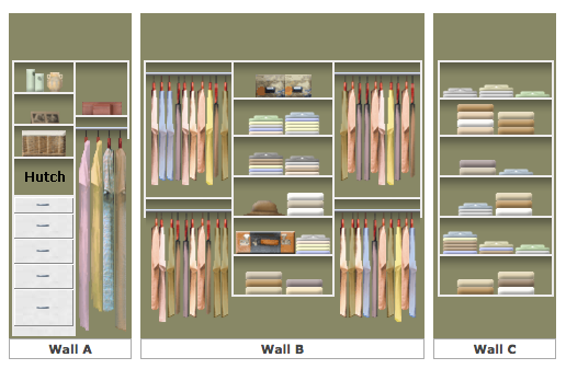 Master Closet Designs the master closet - part 1 | lumber loves lace