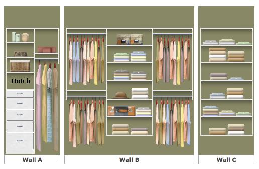 Master Closet Design | Melissa Lynch | melissalynch.com