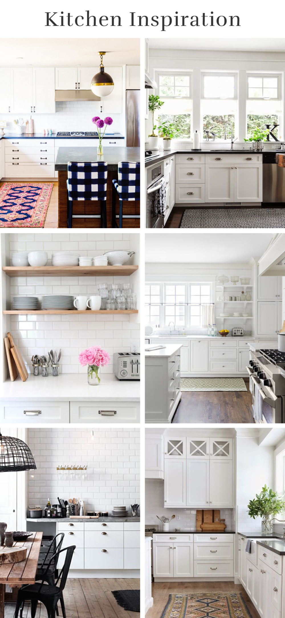 White Industrial Modern Kitchen Inspiration | lumberloveslace.com