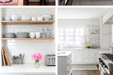 White Industrial Modern Kitchen Inspiration | lumberloveslace.com