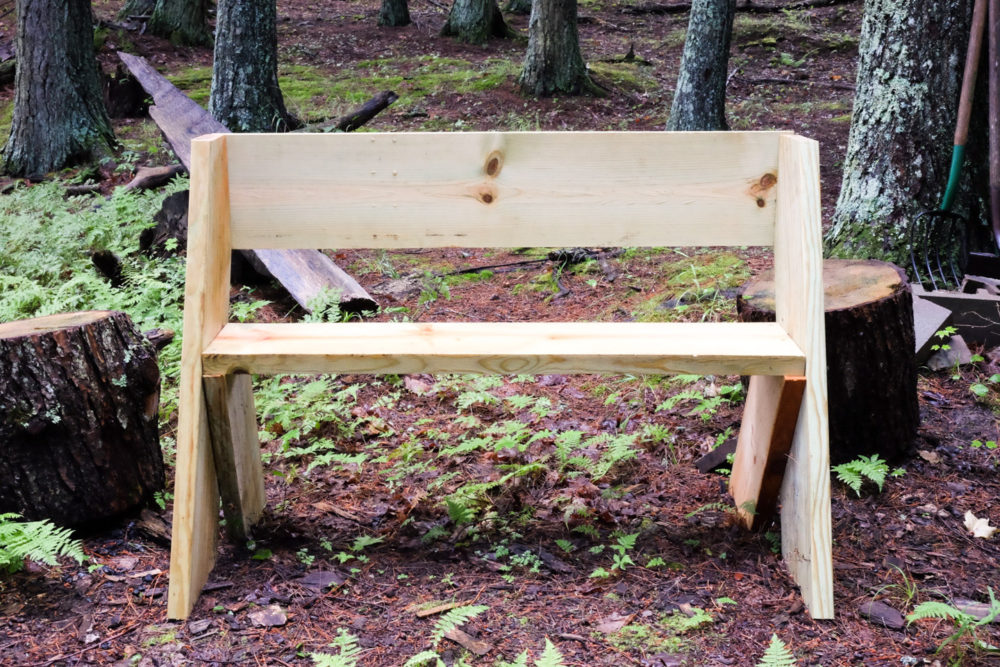Fire Pit Benches | Lumber Loves Lace | lumberloveslace.com