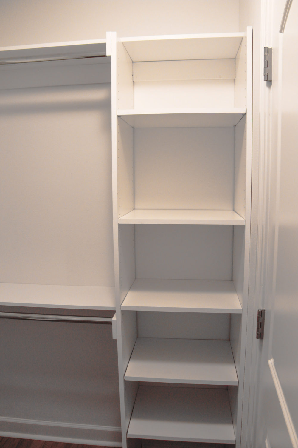 Custom Built Master Closet| Melissa Lynch | melissalynch.com