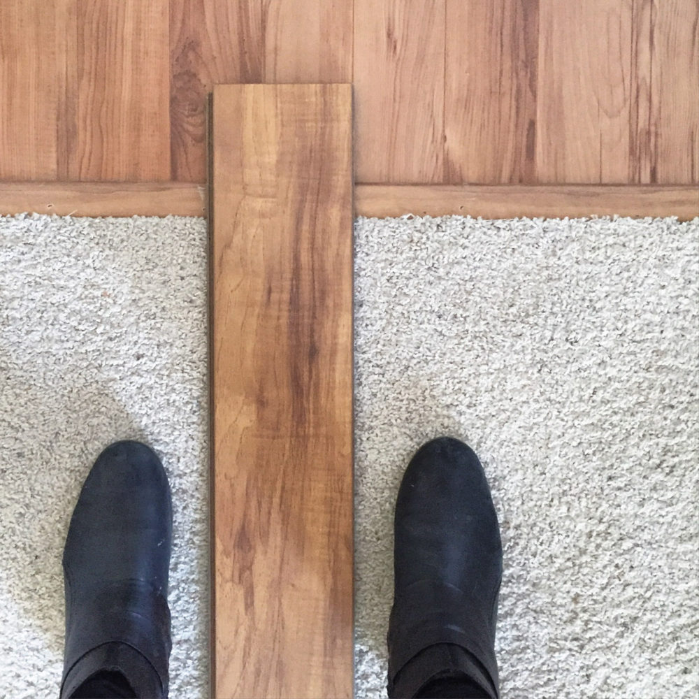 Whoops! New Flooring | Lumber Loves Lace | lumberloveslace.com