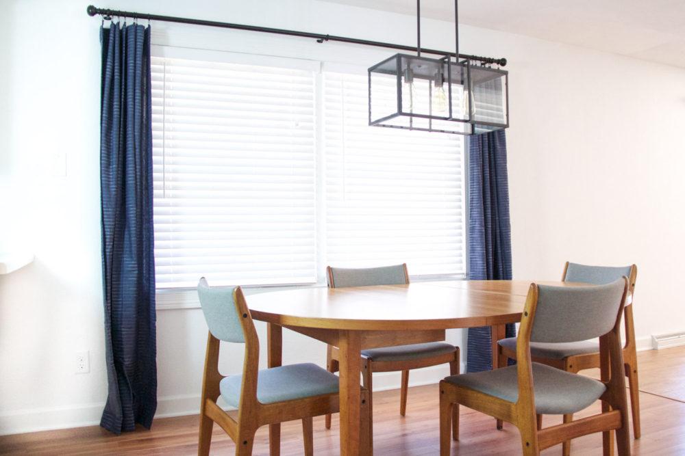 Industrial Modern Dining Room Lighting | Melissa Lynch | melissalynch.com