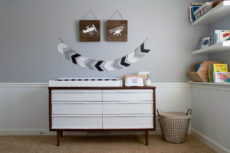 Converting a Vintage Dresser into a Changing Table | Lumber Loves Lace | lumberloveslace.com