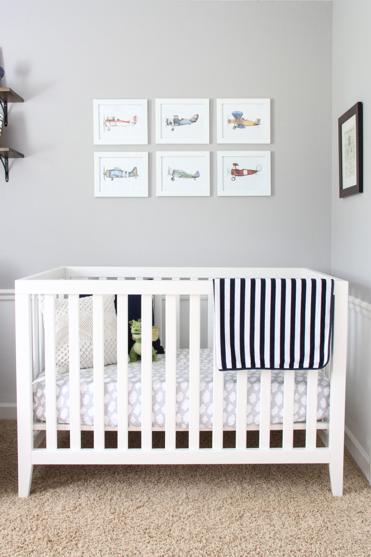 Elliot's Nursery | Melissa Lynch | melissalynch.com