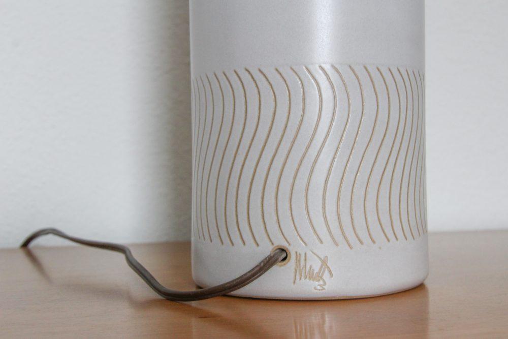 Martz lamp signature | Lumber Loves Lace | lumberloveslace.com