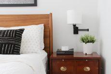 Master Bedroom Lighting | Lumber Loves Lace | lumberloveslace.com