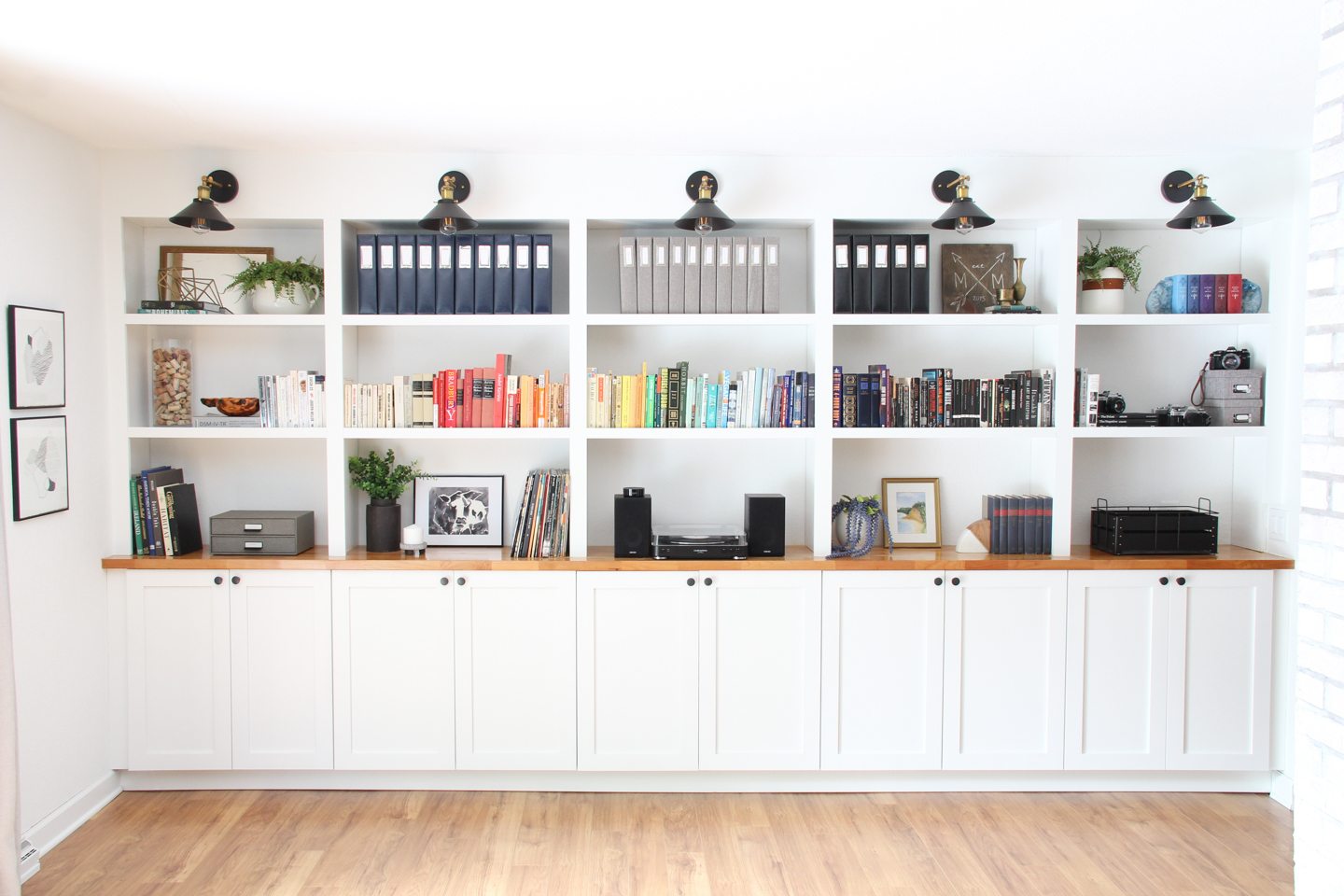 Our Built In Bookshelves Melissa Lynch