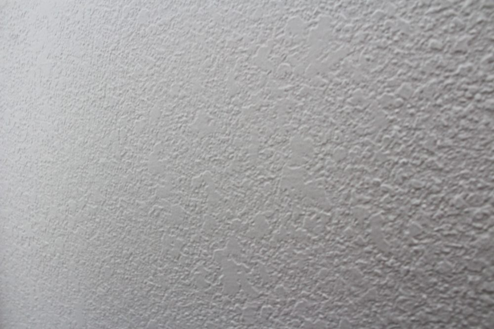 Knockdown texture on drywall | Melissa Lynch | melissalynch.com