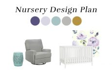 Nursery Design Plan | Melissa Lynch | melissalynch.com