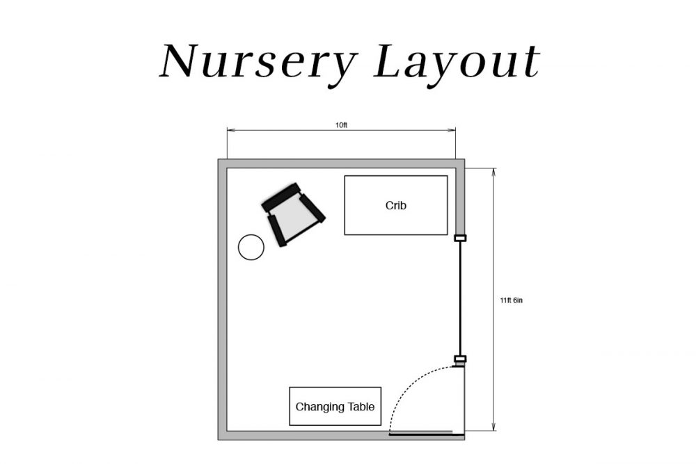 Nursery Layout | Melissa Lynch | melissalynch.com